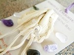 Spiritual Enlightenment pocket-size Crystal Medicine Bag