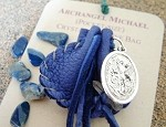 Archangel Michael pocket-size Crystal Medicine Bags