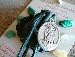 Archangel Raphael pocket-size Crystal Medicine Bag