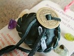 Business Prosperity pocket-size Crystal Medicine Bag