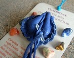 Confidence pocket-size Crystal Medicine Bag