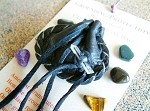 Grounding/Protection pocket-size Crystal Medicine Bag