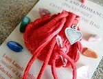 Love and Romance pocket-size Crystal Medicine Bag